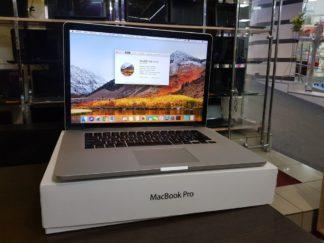 """15.4""""/ Apple MacBook Pro 15 Retina 2012 (Core i7 2300 Mhz / 2880x1800 / 8GB / GeForce 650M + HD 4000/ 256Gb SSD / Wi-Fi / Bluetooth / MacOS High Siera / Коробка"""