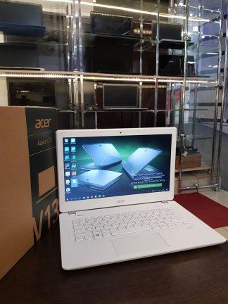 """13.3""""/ HD/W1064/Ноутбук Acer Aspire V3-372-59AU / Core i5-6200U 4*2300-2800 * МГц / 8Gb / 1Tb / 520 / white / 3220mAh / Win 10"""