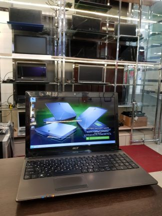 "15.6""/ Ноутбук Acer Aspire 5750G-2434G64Mnkk ( Intel i5-2430M 4*2400-3000МГц / 4096МБ / 640ГБ / nVidia GeForce GT 540M / аккум слабый / Win 7"