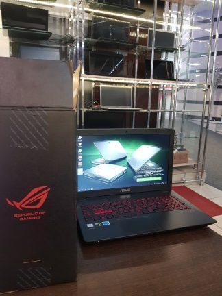 "15.6"" IPS 1920x1080 FullHD Ноутбук ASUS ROG GL552VX(SKL)-DM426T / Intel Core i5 6300HQ 4*2.3ГГц / 8Гб DDR 4 / 1000Гб + 128 SSD / nVidia GeForce GTX 950M 128 бит / DVD-RW / подсветка клавиатуры / Windows 10 / НОВЫЙ коробка год гарантии сумка мышь в комплекте"