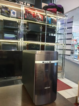Системник DEXP Mars E186 / MSI мат плата / Pentium G4600 4*3600MHz / 8GB DDR4 / MSI GTX1050 Ti 4GB / 1TB / Win 10 чек на 32тр новый
