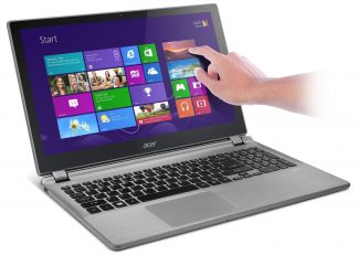 "15.6"" Сенсорный /1366x768/ Acer ASPIRE E5-573T-59RC ( Intel Core i5 5200U 4*2200-2700 MHz / 8.0Gb / 1000Gb / DVD нет / Intel HD Graphics 5500 / Wi-Fi / Win 10"